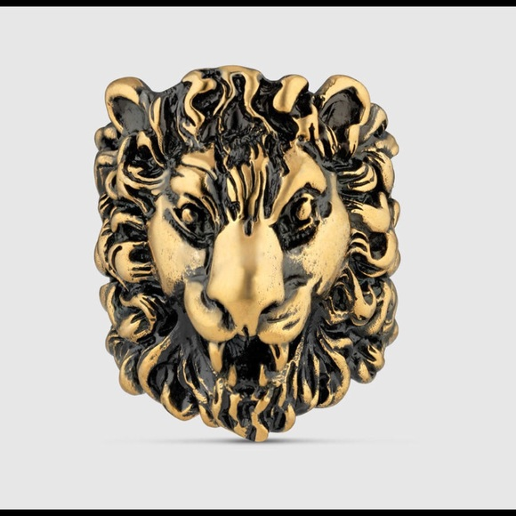 Gucci Other - Gucci Gold Lion Ring
